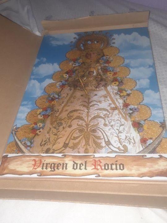 Azulejo Virgen del Rocío 20 x 30 cm