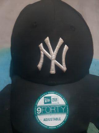 Gorra New York Negra