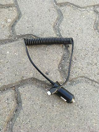 cargador móvil para coche tipo USB micro b