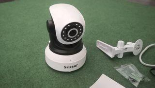 Cámara video vigilancia Sricam wifi