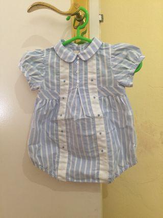 Vestido bebé T0-3 meses