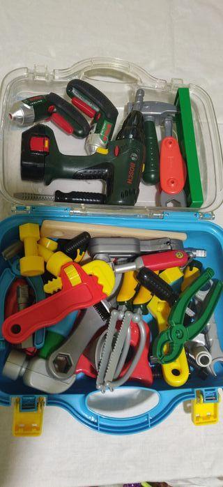 Caja de herramientas para niño