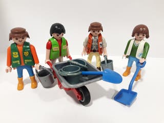 cuidador zoo playmobil