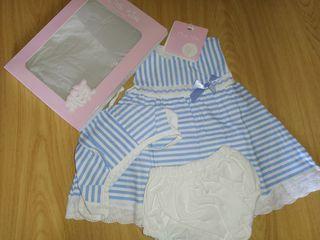 Se venden por cierre de mercería vestidos bebé