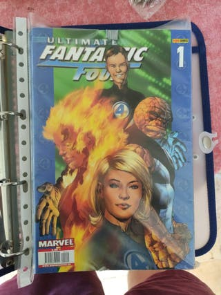 16 cómics Fantastic Four