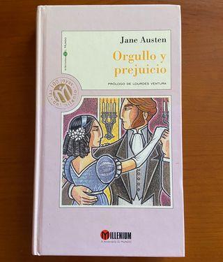 Libro Orgullo y prejuicio Jane Austen