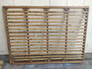 somier de bambú