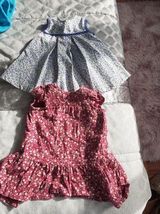 10 prendas vestidos bebé 3m6m