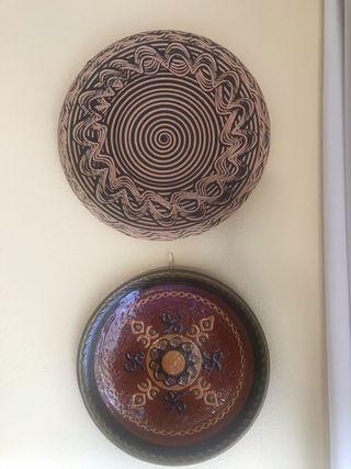 Platos decorativos