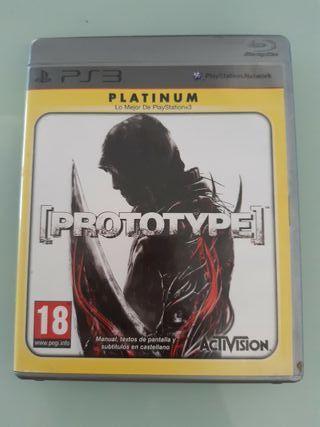 Protoype PS3