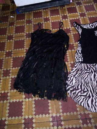 camisa de cola vestidos de lentejuelas y de fresco