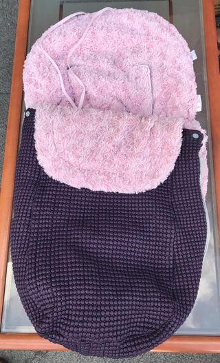 Saco de invierno para silla bebe