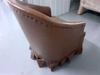 Mini sillón vintage de tocador