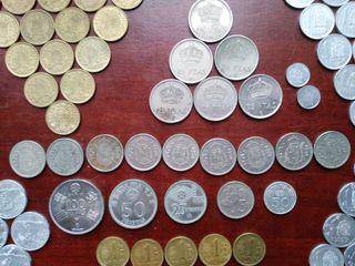 Lote variado de monedas españolas de Juan Carlos I