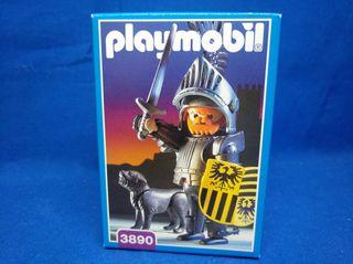 Playmobil Caballero Barón con perro REF 3890