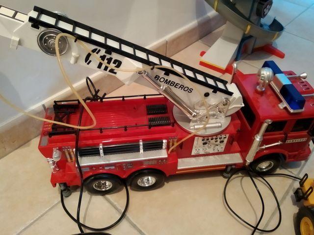 camión bomberos radio de control