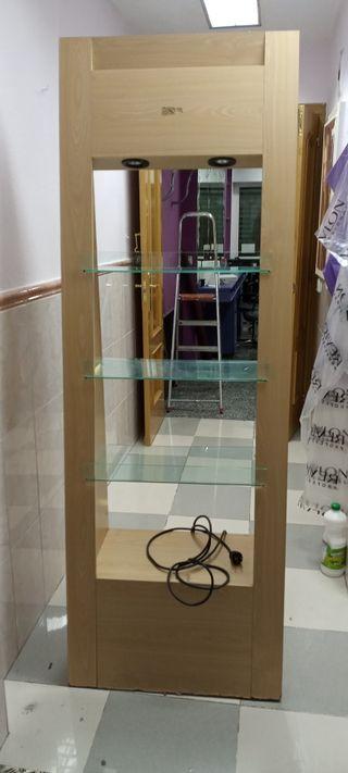 Mueble de peluquería