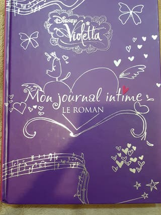 Mon journal intime - Le Roman de Violetta