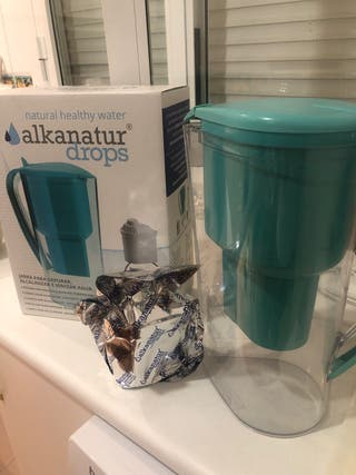 Jarra para purificar agua de Alkanatur