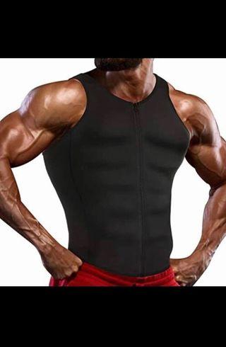 Men Body Shaper Waist Trainer Brace Gym