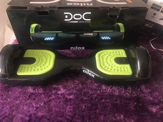 hoverboard nilox negro y verde