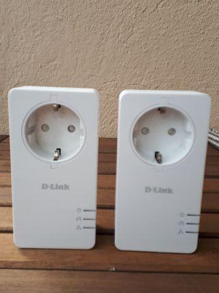 PLC. Adaptadores comunicación línea eléctrica.