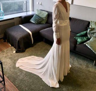 Vestido de novia diseño único