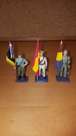 Soldados de plomo del ejercito Español