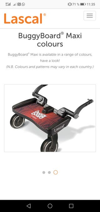 Lascal patinete universal Buggy board Maxi