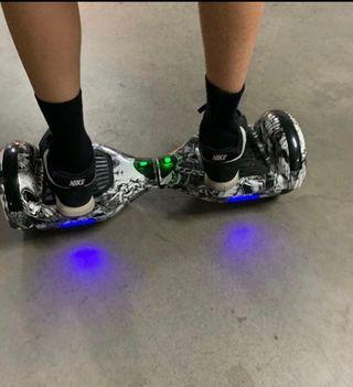 Hoverboard con manillar