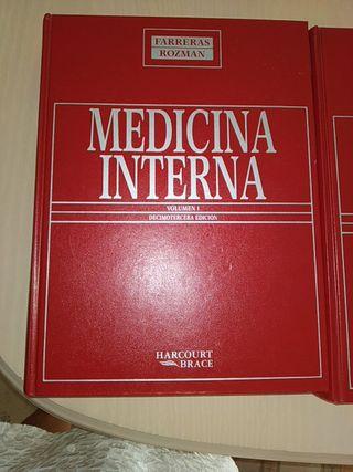 Medicina interna.Farreras Rozman