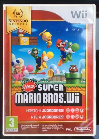 Wii New Super Mario Bros (Nintendo Selects)
