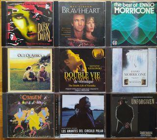 CD's de Bandas Sonoras de películas