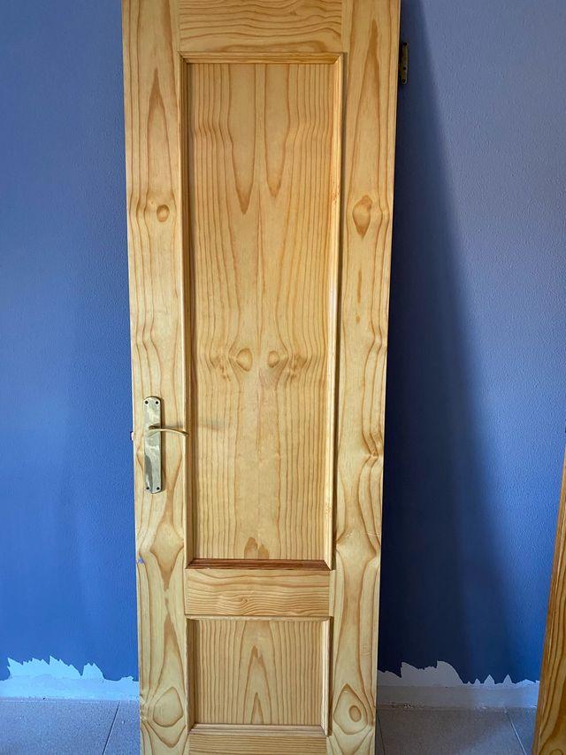 Puerta madera x2