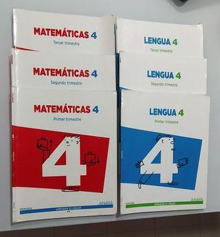 Libros 3 primaria Anaya.