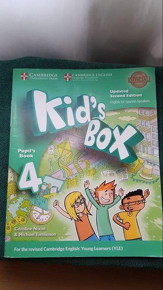 LIBROS DE ACTIVIDADES DE 4 DE PRIMARIA KID'S BOX