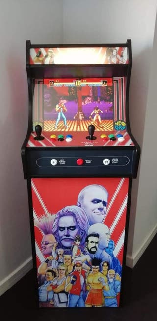 recreativa bartop mas pie the king of fighter