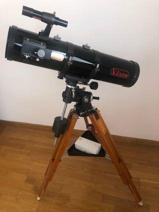 Telescopio Vixen NP-R130E + buscador de la polar
