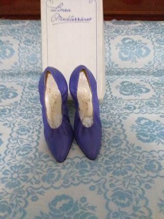 zapatos de traje de gitana