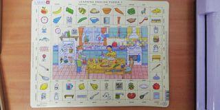 Puzzle educativo Learning English 1 de Larsen
