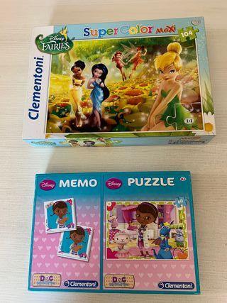 Dos puzzles infantiles