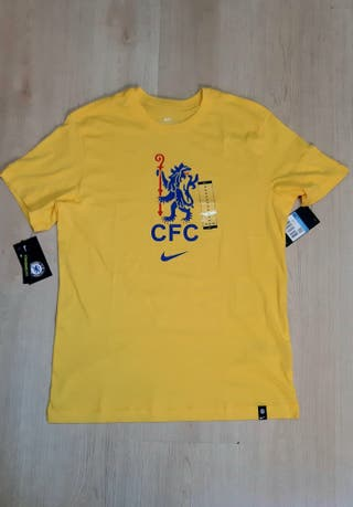 camiseta nike amarilla chelsea