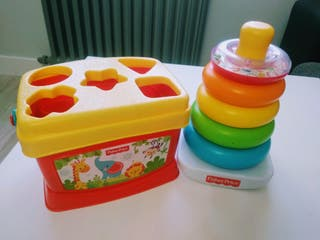 Lote 3 juguetes Fisher Price + Puzzle