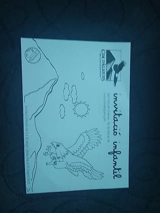 Invitacio infantil cim d'aguiles