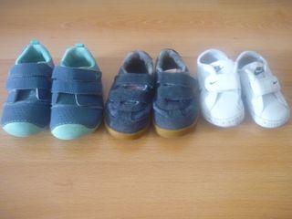 LOTE Zapatillas bebé números 17 - 18 - 20