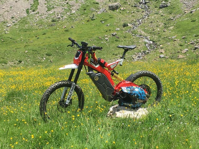 """Bultaco Brinco""""240km"""""""