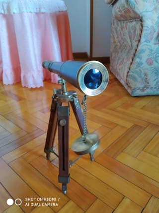 Telescopio monocular con tripode