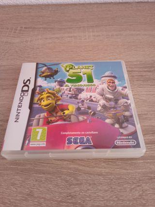Planet 51 El videojuego Nintendo DS
