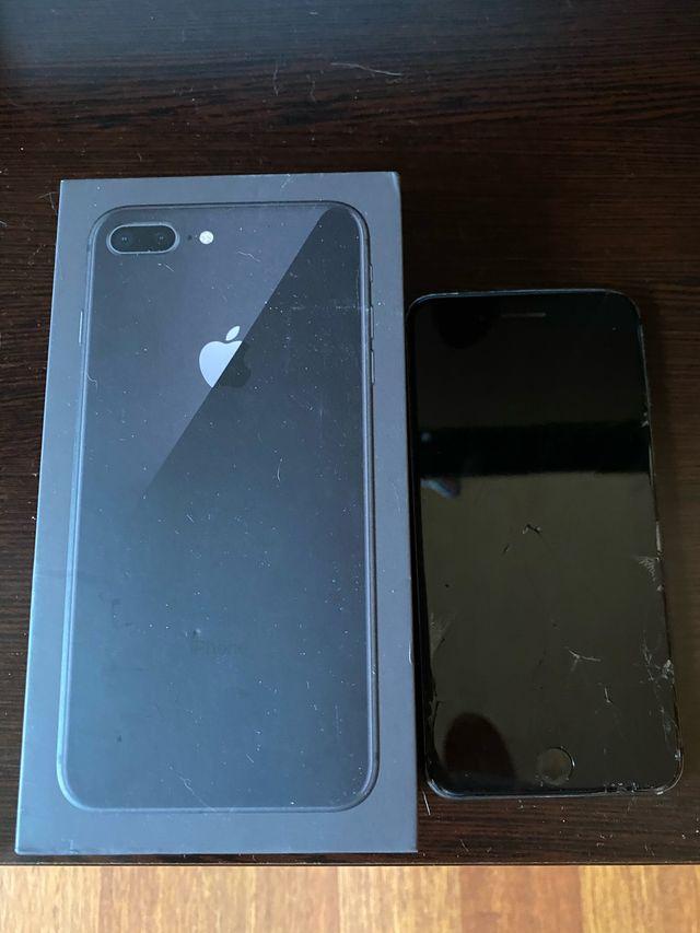 Iphone 8 plus 256 gb negro