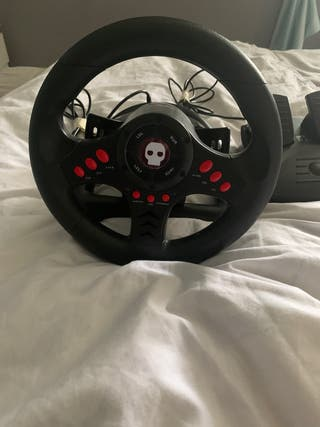 Gaming Steering wheel and pedals
